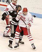 Jake Oettinger (BU - 29), Kasper Björkqvist (PC - 20), Charlie McAvoy (BU - 7) - The Boston University Terriers tied the visiting Providence College Friars 2-2 on Saturday, December 3, 2016, at Agganis Arena in Boston, Massachusetts.