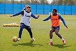 09.05.2019 Rangers training: Jon Flanagan and Lassana Coulibaly