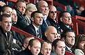 DUNFERMLINE MANAGER JIM MCINTYRE WATCHES FROM THE STAND