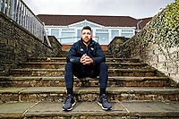 Ospreys rugby player Rhys Webb at the Llandarcy Acdemy of Sports in south Wales, UK. Tuesday 09 January 2018