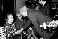 Montreal (QC) Canada- - Nov 24, 1984 File Photo -election campaign - Pierre-Marc Johnson
