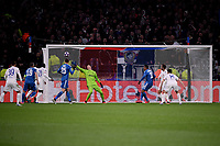 Lucas Tousart of Lyon scores the goal of 1-0 <br /> Lyon 26/02/2020 OL Stadium Decines <br /> Football Champions League 2019//2020 <br /> Round of 16 1st Leg <br /> Olympique Lionnais Lyon - Juventus <br /> Photo Federico Tardito / Insidefoto