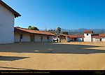 Quadrangle, El Presidio Real de Santa Barbara 1782, Santa Barbara, California