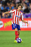 Orlando, FL - Wednesday July 31, 2019:  Rodrigo Riquelme #32 during the Major League Soccer (MLS) All-Star match between the MLS All-Stars and Atletico Madrid at Exploria Stadium.