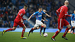 Fraser Aird skips in from the wing