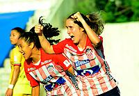 BARRANQUILLA - COLOMBIA, 25-10-2020: Atletico Junior y Deportivo Pasto, durante partido por la fecha 2 de la Liga Femenina BetPlay DIMAYOR 2020 jugado en el estadio Romelio Martinez en la ciudad de Barranquilla. / Atletico Junior and Deportivo Pasto, during a match for the 2nd date of the Women's League BetPlay DIMAYOR 2020 played at the Romelio Martinez stadium in Barranquilla city. / Photo: VizzorImage / Jairo Cassiani / Cont.