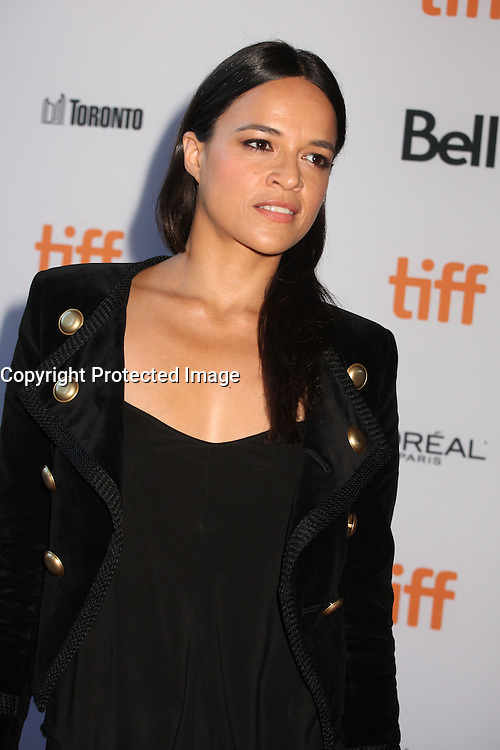MICHELLE RODRIGUEZ - RED CARPET OF THE FILM '(RE) ASSIGNMENT' - 41ST TORONTO INTERNATIONAL FILM FESTIVAL 2016 , 14/09/2016. # FESTIVAL INTERNATIONAL DU FILM DE TORONTO 2016 - RED CARPET '(RE)ASSIGNMENT'