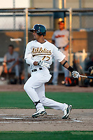 Douglas Landaeta -  AZL Athletics - 2009 Arizona League.Photo by:  Bill Mitchell/Four Seam Images