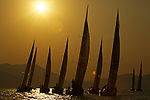 Boats in action during Race 5 on the second day of the 2010 China Cup International Regatta.
