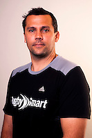 Assistant coach Wesley Clarke. New Zealand Black Ferns headshots at The Rugby Institute, Palmerston North, New Zealand on Thursday, 28 May 2015. Photo: Dave Lintott / lintottphoto.co.nz