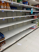 OCT 16 America's Supply-chain Shortage Responsible for Empty Shelves in NY