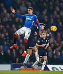 27.02.2019: Rangers v Dundee: James Tavernier and Ethan Robson
