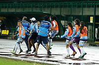 ITAGÜI- COLOMBIA, 28-11-2020: Deportivo Independiente Medellín Y  Real San Andrés  durante partido de los Cuartos de Final vuelta de la Liga Femenina BetPlay DIMAYOR 2020 jugado en el estadio Metropolitano de Itagüi. /  Deportivo Independiente Medellín and  Real San Andres  during a match of the Quarterfinals segond match for the Women's League BetPlay DIMAYOR 2020 played at the Metropolitano of Itagui . / Photo: VizzorImage / Donaldo Zuluaga / Contribuidor