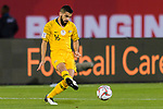 Aziz Behich of Australia in action during the AFC Asian Cup UAE 2019 Round of 16 match between Australia (AUS) and Uzbekistan (UZB) at Khalifa Bin Zayed Stadium on 21 January 2019 in Al Ain, United Arab Emirates. Photo by Marcio Rodrigo Machado / Power Sport Images
