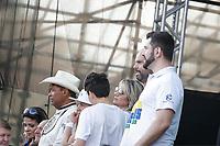 SÃO PAULO, SP 20.06.2019: MARCHA PARA JESUS-SP - O prefeito Buno Covas na 27ª edição da Marcha Para Jesus, maior evento cristão do mundo, acontece nesta quinta-feira, 20 na  zona norte da capital paulista. O evento contou com participação de bandas, cantoras e cantores do segmento gospel. (Foto: Ale Frata/Código19)