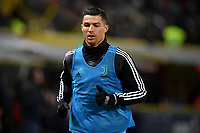 Cristiano Ronaldo of Juventus warms up during the Italy Cup 2018/2019 football match between Bologna and Juventus at stadio Renato Dall'Ara, Bologna, January 12, 2019 <br />  Foto Andrea Staccioli / Insidefoto