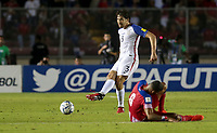 Panama City, Panama - March 28, 2017: The U.S. Men's National team and Panama are all even 1-1 during second half play in a 2018 World Cup Qualifying Hexagonal match at Estadio Rommel Fernandez.