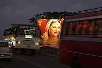 Billboards in and around the gold areas in Cochin...