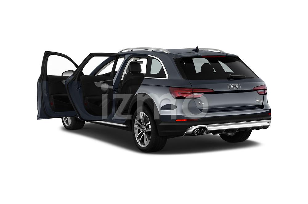 Car images close up view of a 2018 Audi A4 allroad quattro base 5 Door Wagon doors