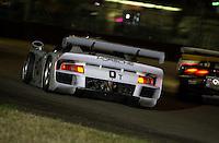 The #0 Bytzek GT1 Porsche turns into the International Horseshoe.39th Rolex 24 at Daytona, 3/4 February,2001 Daytona International Speedway  Daytona Beach,Florida,USA.©F.Peirce Williams 2001 ..