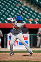 Dylan Jones (7) during the Dominican Prospect League Elite Underclass International Series, powered by Baseball Factory, on August 31, 2017 at Silver Cross Field in Joliet, Illinois.  (Mike Janes/Four Seam Images)