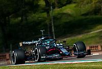 16th April 2021; Autodromo Enzo and Dino Ferrari, Imola, Italy; F1 Grand Prix of Emilia Romagna, Free Practise sessions;  18 STROLL Lance (can), Aston Martin F1 AMR21