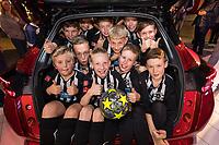 Heanor Juniors FC visit Bristol Street Motors Ilkeston, kit sponsors at the new Nissan Juke preview event
