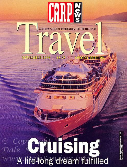 "Carp ""Travel"" Magazine Cover 1999"