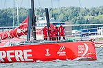 Teams sail during the Practice Race as part of the activities of the Volvo Ocean Race stopover on June 25, 2015 in Gothenburg, Sweden. Photo by Victor Fraile / Power Sport Images