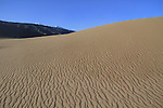 Close-up of sand dune in Great Sand Dunes National Park, Colorado. John offers private photo tours to Great Sand Dunes National Park and Rocky Mountain National Park, Colorado.