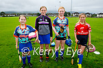 Attending the Tralee Parnells Cúl Camps on Monday, l to r: Keelin Walsh, Evie O'Sullivan, Clodagh Culloty and Ciara Trant.