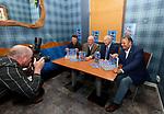 "08.06.2021 Launch of new Rangers book ""Just Champion"" at Mr Singh's, Glasgow: Gordon Smith, John Gilligan, Alex Totten and Derek Johnstone"
