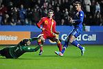 FIFA 2014 World Cup Qualifier - Wales v Croatia - Swansea - 26th March 2013 : Gareth Bale of Wales.