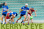 Tommy Barrett Causeway in action against David Griffin St Brendans during the Senior Kerry County Hurling Semi Finals between Causeway v Brendans at Austin Stack park on Saturday last.