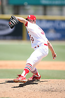 April 15, 2009:  Closer Adam Reifer (30) of the Palm Beach Cardinals, Florida State League Class-A affiliate of the St. Louis Cardinals, delivers a pitch during a game at Roger Dean Stadium in Jupiter, FL.  Photo by:  Mike Janes/Four Seam Images