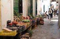 Tripoli, Libya - Street Scene in the Medina (Old City).