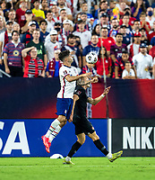 NASHVILLE, TN - SEPTEMBER 5: Christian Pulisic #10 of the United States controls the ball during a game between Canada and USMNT at Nissan Stadium on September 5, 2021 in Nashville, Tennessee.