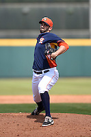 Houston Astros pitcher Josh Zeid (61) during a spring training game against the Miami Marlins on March 21, 2014 at Osceola County Stadium in Kissimmee, Florida.  Miami defeated Houston 7-2.  (Mike Janes/Four Seam Images)
