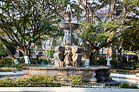 Antigua, Guatemala. Town Square Fountain.
