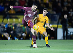 Livingston v St Johnstone…31.10.18…   Tony Macaroni Arena    SPFL<br />Tony Watt and Shaun Byrne<br />Picture by Graeme Hart. <br />Copyright Perthshire Picture Agency<br />Tel: 01738 623350  Mobile: 07990 594431