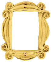 BNPS.co.uk (01202) 558833. <br /> Pic: HeritageAuctions/BNPS<br /> <br /> The iconic Friends peephole picture frame has sold for a staggering £25,000 ($35,000) following a bidding war.<br /> <br /> The yellow papier-mache prop was a permanent feature on the inside of Monica Geller's New York apartment door in the hit TV series which ran from 1994 to 2004.<br /> <br /> The frame was initially intended to hold a photograph before its glass was accidentally broken by set decorator Greg Grande.