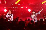 (L-R) Shota Shimizu, Miriya Kato, Jun 22, 2013 : MTV VMAJ (VIDEO MUSIC AWARDS JAPAN) 2013 at Makuhari Messe in Chiba, Japan. (Photo by AFLO)