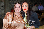 Enjoying the evening in Benners on Friday, l to r: Cassandra King and Aine Fraughen from Tralee.