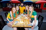 Enjoying the evening at the KHA Restaurant in Killarney on Saturday, l to r: Dawn Carmody (KIllarney), Erin Doheny (Killarney), Filip Jakubowski (Killarney), Sarra Neher (Killarney) and Ellen Kennedy (Killarney).