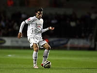 ATTENTION SPORTS PICTURE DESK<br /> Pictured: Jordi Gomez of Swansea<br /> Re: Coca Cola Championship, Swansea City FC v Plymouth Argyle at the Liberty Stadium, Swansea, south Wales. 10 March 2009.<br /> Picture by D Legakis Photography / Athena Picture Agency, Swansea 07815441513