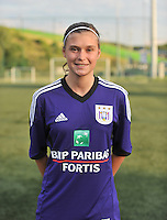 RSC Anderlecht Dames : Anaelle Wiard<br /> foto David Catry / nikonpro.be
