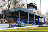 The main stand at Cressing Road during Braintree Town vs Bromley, Vanarama National League Football at the Avanti Stadium on 25th March 2016