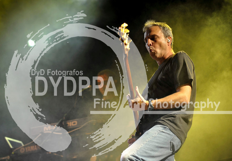 29/06/2012. Alcala De Henares. Madrid. Spain. Spanish band ®Hombres G®plays for a benefict couse.(c) Ivan espinola/ DyD Fotografos