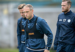 St Johnstone Training…07.09.17<br />Steven Anderson pictured with Steven MacLean and Denny Johnstone during training at McDiarmid Park ahead of the home game against Hibs<br />Picture by Graeme Hart.<br />Copyright Perthshire Picture Agency<br />Tel: 01738 623350  Mobile: 07990 594431