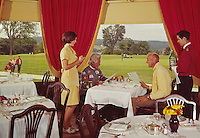 Poland Springs Dining Room overlooking the golf course